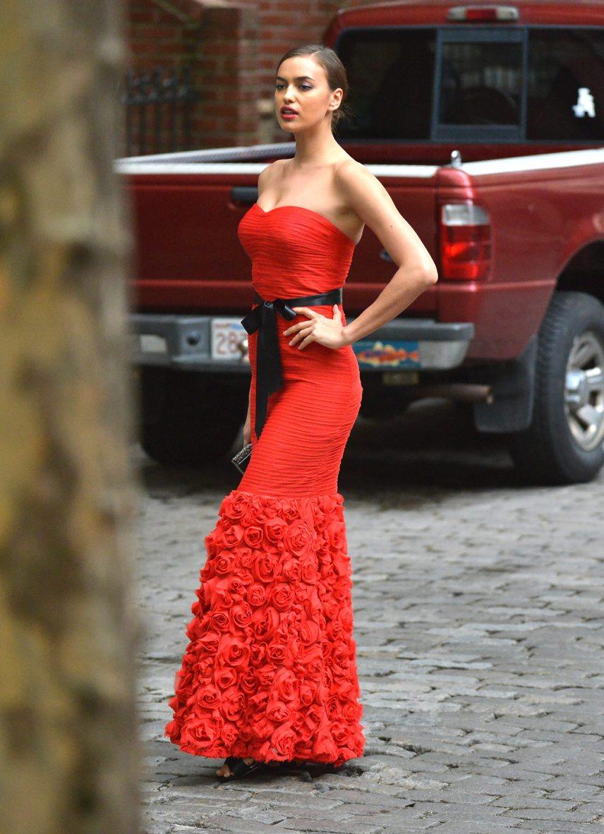 صور إيرينا شايك في جلسة تصوير Lord & Taylor في نيويورك 2014