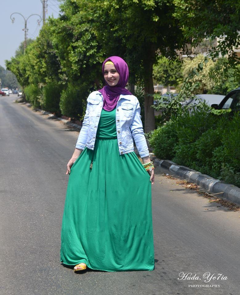 482a776e7a26c ملابس محجبات ستايل لصيف 2014