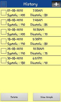 ����� ����� Blood Pressure Tracker Lite ������ ��������� 2014