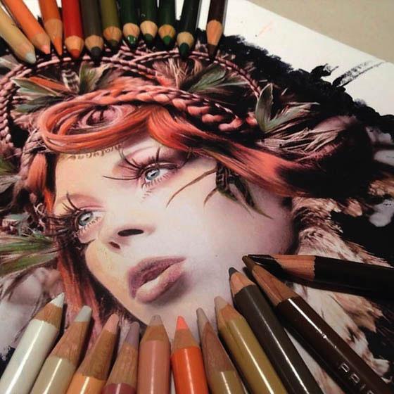 لوحات ورسومات الفنانة الأمريكية Karla