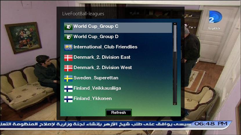 ����� ���� LiveFootBall 5.1 world cup Brazil 2014