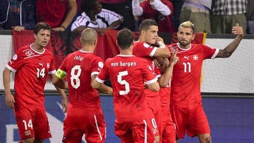 رسميا تشكيلة مباراة سويسرا والإكوادور
