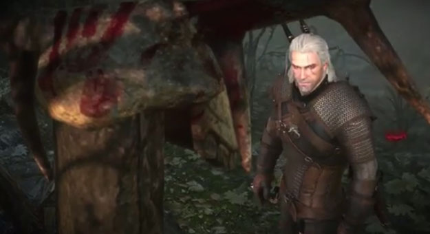 �������� ����� ���� Witcher 3 Gameplay ������� 2014