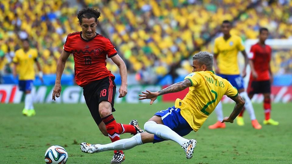 صور مباراة البرازيل والمكسيك في كأس العالم اليوم الثلاثاء 17-6-2014