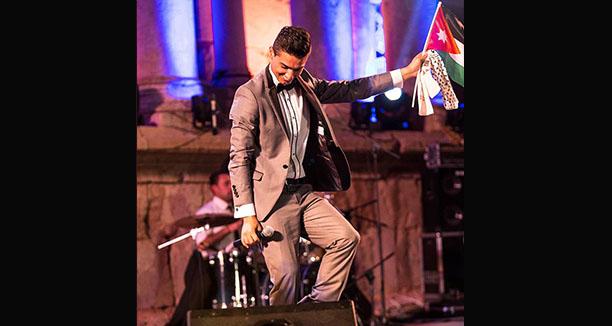 صور حفلة محمد عساف في مهرجان جرش 2014