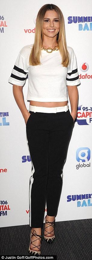صور حفلة شيريل كول في مهرجان  Capital FM في بريطانيا