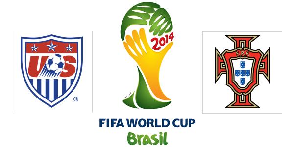 Portugal Vs USA World Cup Sunday 22/6/2014