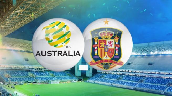 تشكيلة مباراة إسبانيا و أستراليا في كأس العالم اليوم الاثنين 23-6-2014