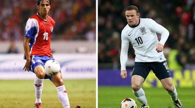 تشكيلة مباراة انجلترا وكوستاريكا في كأس العالم اليوم الثلاثاء 24/6/2014