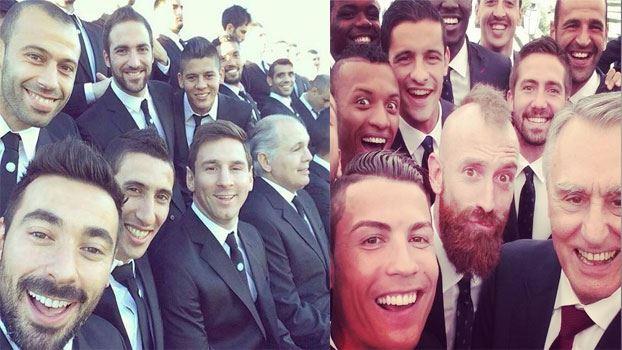 بالصور لقطات سيلفي selfie من كاس العالم 2014 بالبرازيل