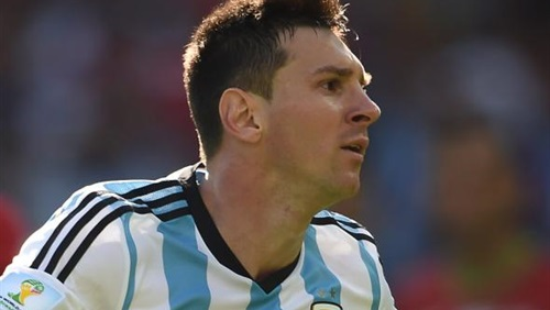 بالفيديو هدف الأرجنتين الاول ميسي في مباراة نيجيريا اليوم 25/6/2014