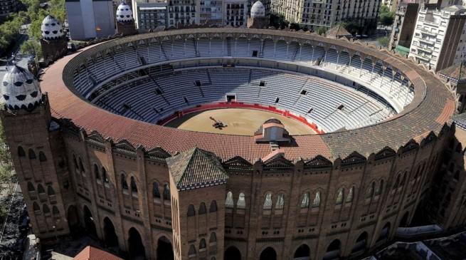 بالصور أمير دولة قطر يسعى الى تحويل ساحة مصارعة الثيران لامومينتال في برشلونة الى مسجد