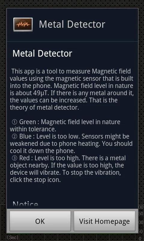 ����� ����� Metal Detector ������ ��������� 2014