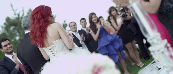 صور حفل زفاف هيفاء وهبي في مسلسل كلام على ورق 2014 ، صور هيفاء وهبي بفستان الزفاف في مسلسل كلام على ورق 2014
