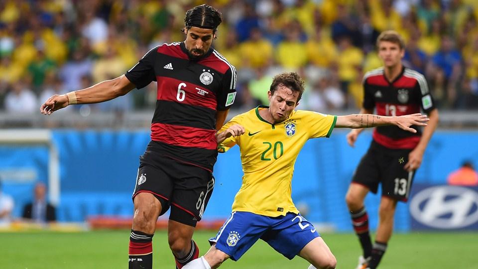 نتيجة وأهداف مباراة البرازيل وألمانيا اليوم الثلاثاء 8-7-2014 كأس العالم