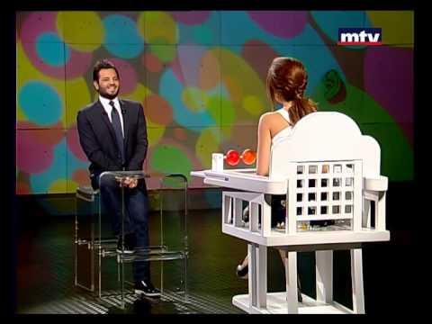 بالفيديو ، مشاهدة برنامج ولا تحلم نيشان حلقة منى صليبا 2014 كاملة