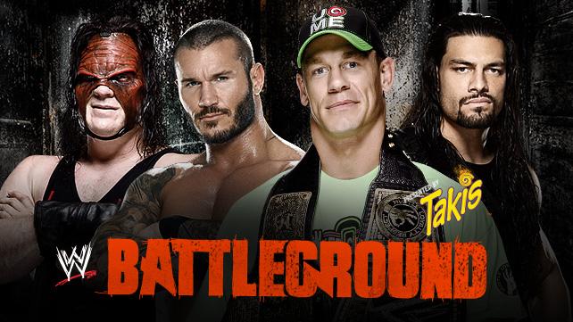 ����� : ������ ��� �������� ������ wwe ���� ����� 2014  ������ Battleground 2014 ��� ����� 20-7-2014