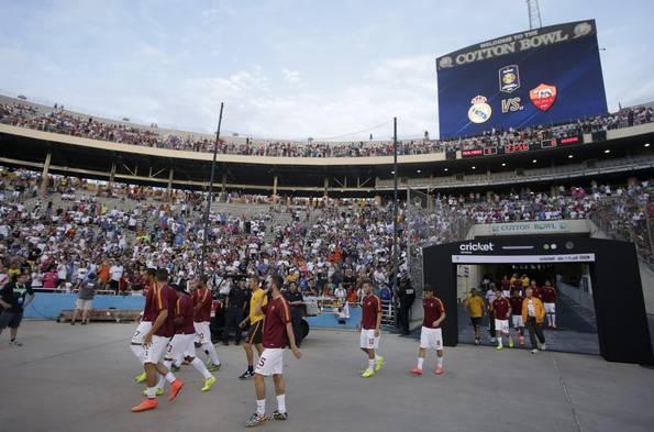 صور مباراة ريال مدريد و روما في بطولة جينيس اليوم 30/7/2014