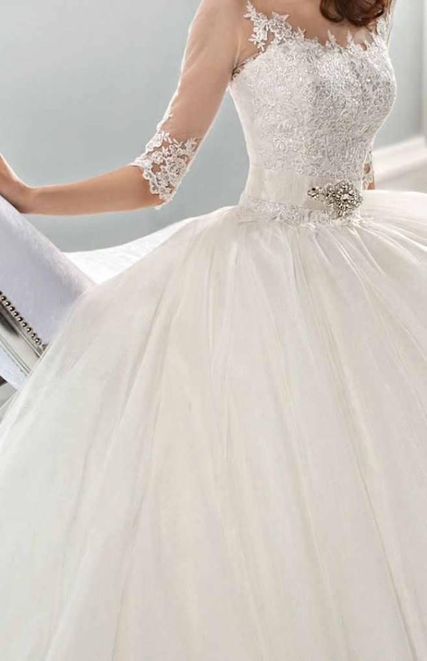 a31255c77 صور فساتين زفاف عالميه 2015 ، صور أجمل فساتين الاعراس 2015 ، فساتين زفاف ع  الموضة 2015