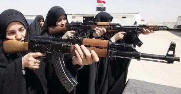 صور بنات داعش 2015 ، صور بنات داعش بالنقاب 2015
