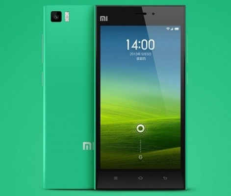 ���� ����� �� ���� Xiaomi Mi 3 ������ ������