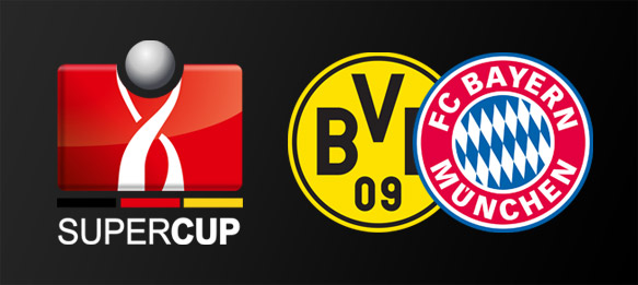 Bayern Munich Vs Borussia Dortmund today 13-8-2014 DFL-Supercup