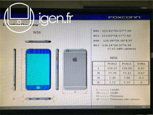 ����� ���� �� ������� ���� ����� 6 , iphone 6 full specification