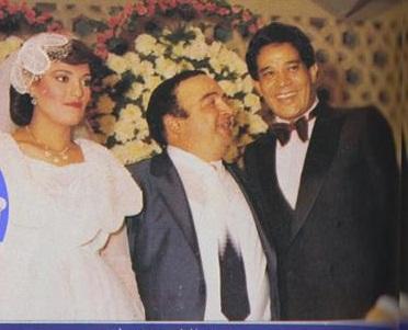صور قديمة ونادرة من حفل زفاف الفنان يونس شلبى , صور الفنانين في حفل زواج يونس شلبى