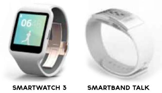 ��� �������� ���� ���� SmartWatch 3 ����� SmartBand Talk