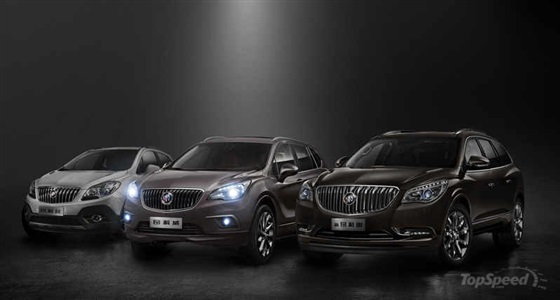 ��� ����� Buick Envision ����� 2015