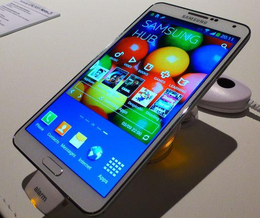سعر هاتف سامسونج جالاكسي نوت 4 الجديد في مصر والسعودية