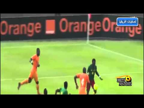 يوتيوب اهداف مباراة الكاميرون وساحل العاج اليوم الاربعاء 10-9-2014 كاملة