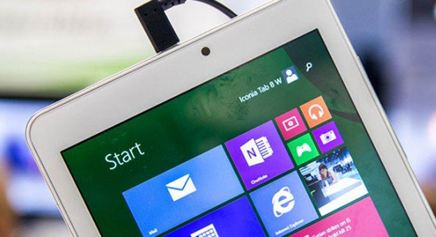 �������� ������� ������� ���� Acer Iconia Tab 8
