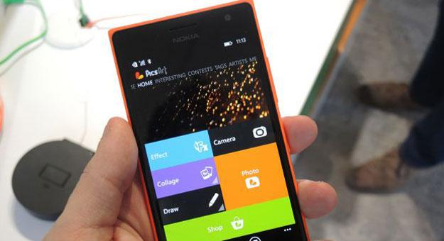 ���� ����� ���� Lumia 735 �� ������� 2014