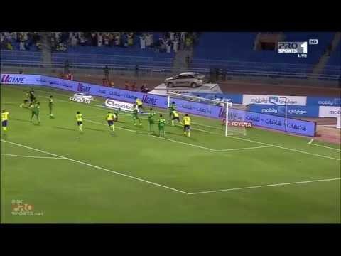 يوتيوب اهداف مباراة النصر والعروبة في الدوري السعودي اليوم 28-9-2014