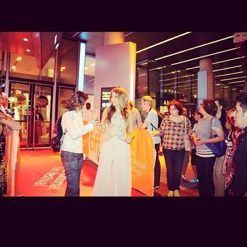 صور مي حريري في مهرجان تورونتو السينمائي في كندا 2014