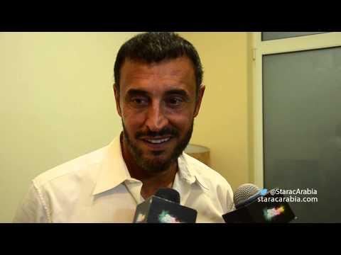 بالفيديو لقاء مع كاظم الساهر في كواليس البرايم 4 ستار اكاديمي 10
