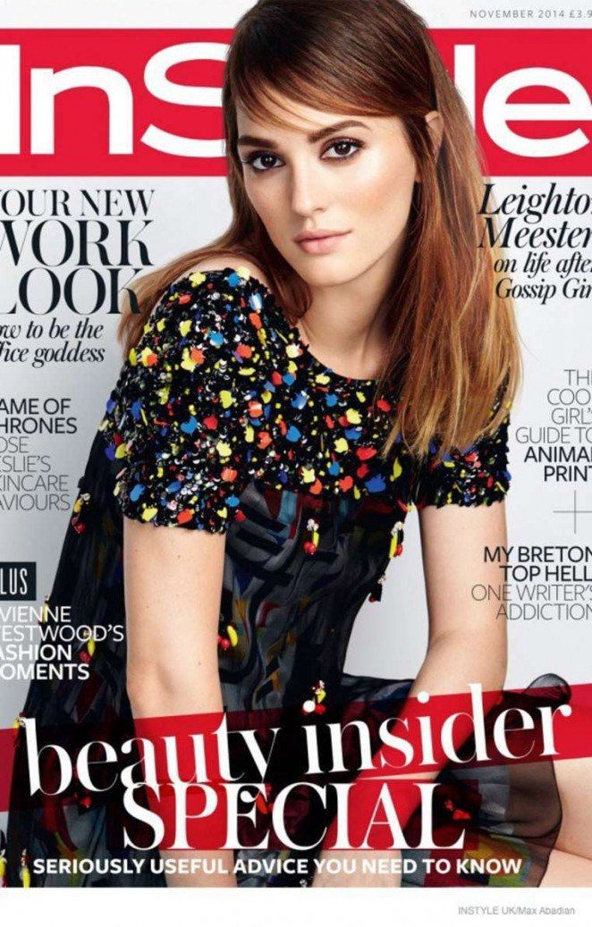 ��� ����� ����� ��� ���� ���� InStyle ���� ������� ������� ������ 2014
