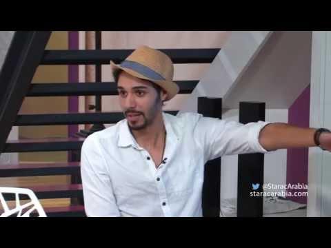 بالفيديو عبد السلام الزايد في جلسة سوشيال ميديا ستار اكاديمي اليوم 7-10-2014