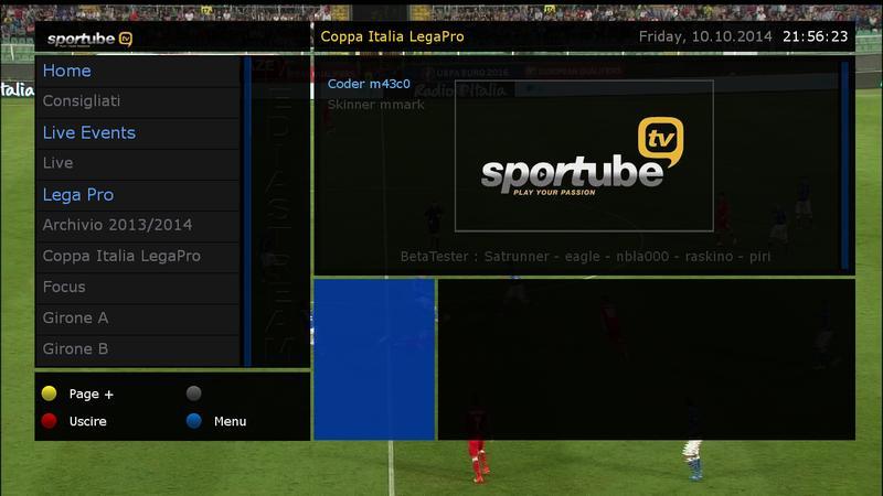 ����� ���� SportTube Live v1.1