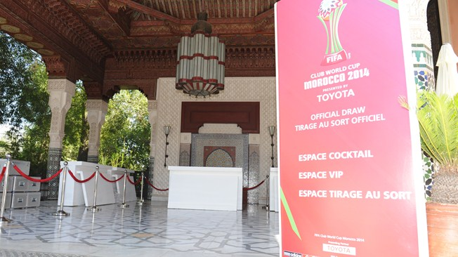 ������ ���� : ������� ������� ����� ��� ������ ������� ������ 2014 FIFA Club World Cup