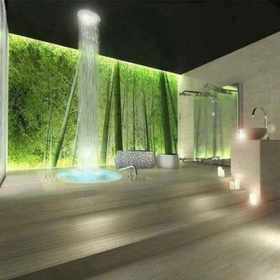 صور تصميمات حمامات منزلية 2015 مودرن , أحلى تصاميم الحمامات في العالم 2015