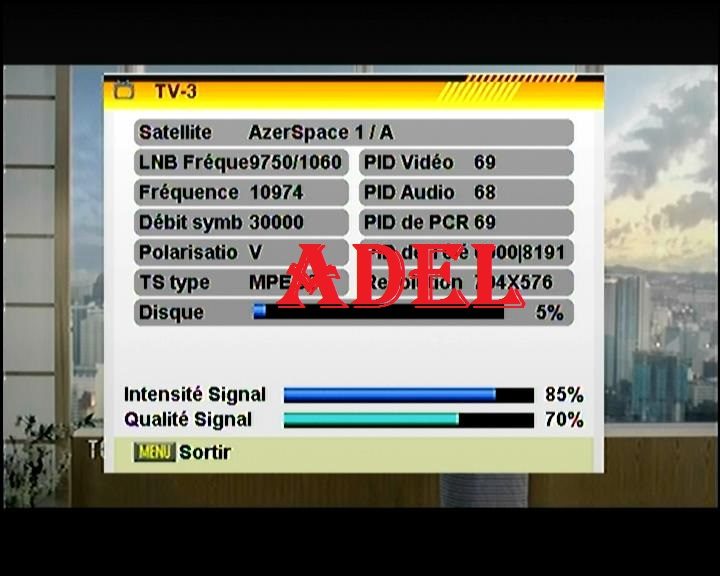 ������ ���� : ������� ����� AzerSpace 1 / Africasat-1A @ 46� East  ������� �������� ������