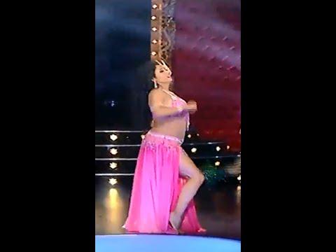 بالفيديو رقص روساليا الأمريكية في برنامج الراقصة على قناة القاهرة والناس 2014