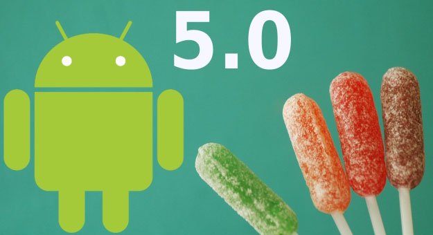 ��� ����� �������� ���� Android 5.0 Lollipop