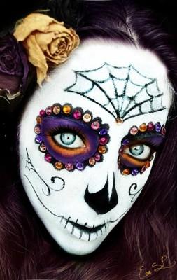 ��� ����� �� ���� ���� �������� 2015 , ��� ����� �������� 2015 halloween makeup ideas