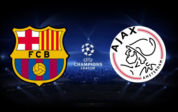 Today 21/10/2014 Barcelona vs Ajax Champions League