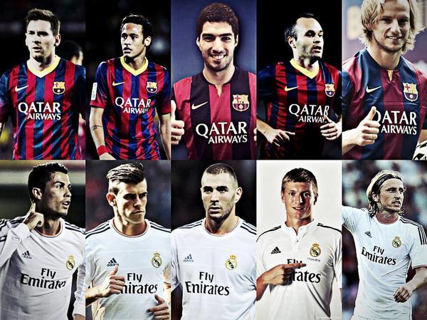 El Clasico Real Madrid vs Barcelona today 25/10/2014
