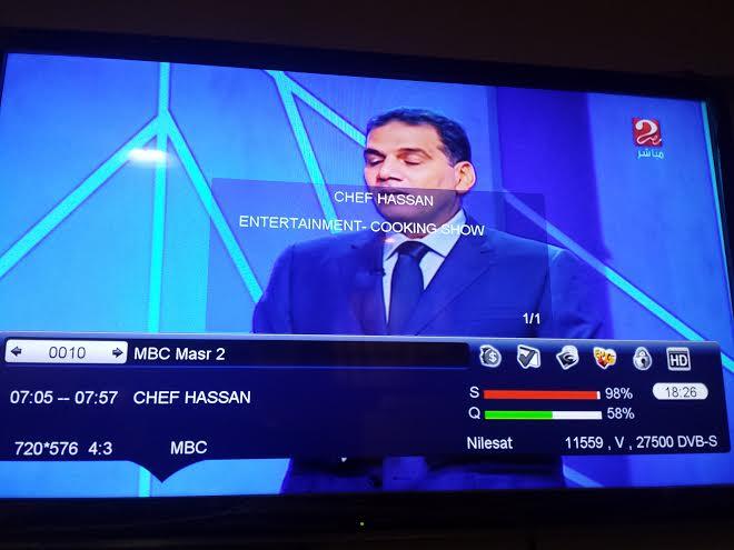 ���� MBC ���2 ���� ����� Eutelsat 7 West A @ 7.3� West