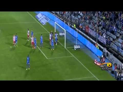 يوتيوب اهداف مباراة اتلتيكو مدريد وخيتافي اليوم 26/10/2014 كاملة